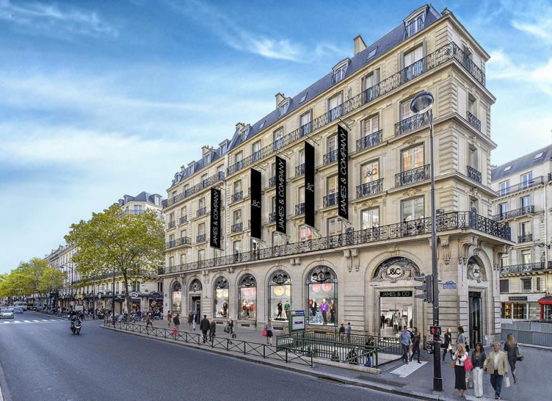 Blvd Haussmann Paris shopping - All Luxury Apartments