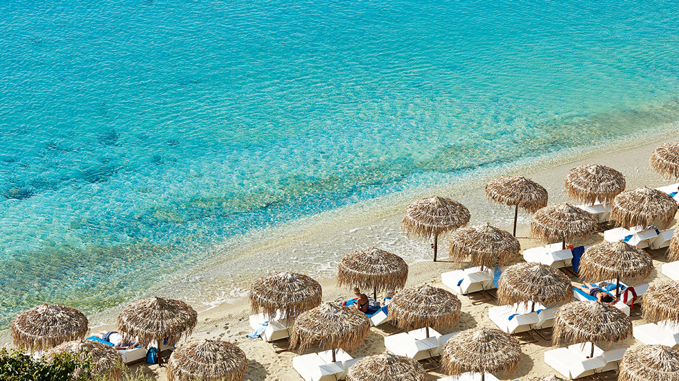 Psarou Beach Mykonos - All Luxury Apartments
