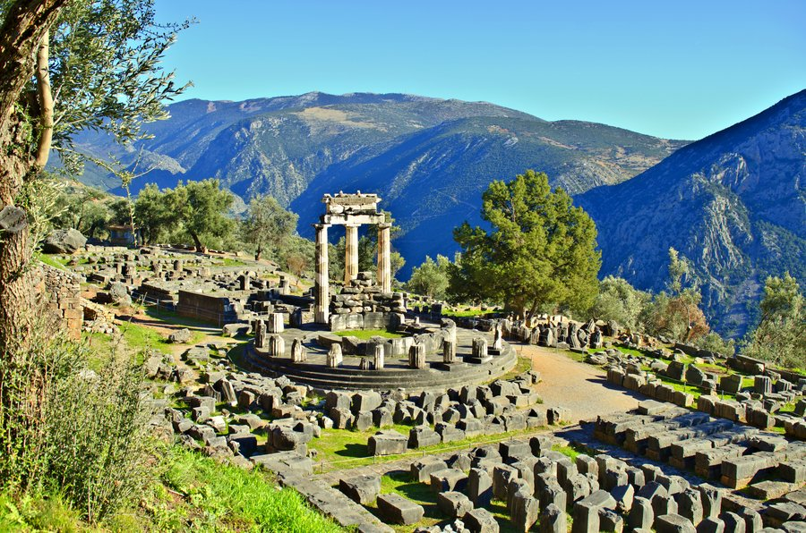 Delphi Archaeological Site - All Luxury Apartments