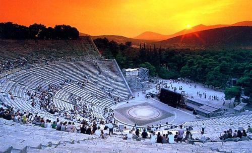 Epidaurus Theater Greece - All Luxury Apartments