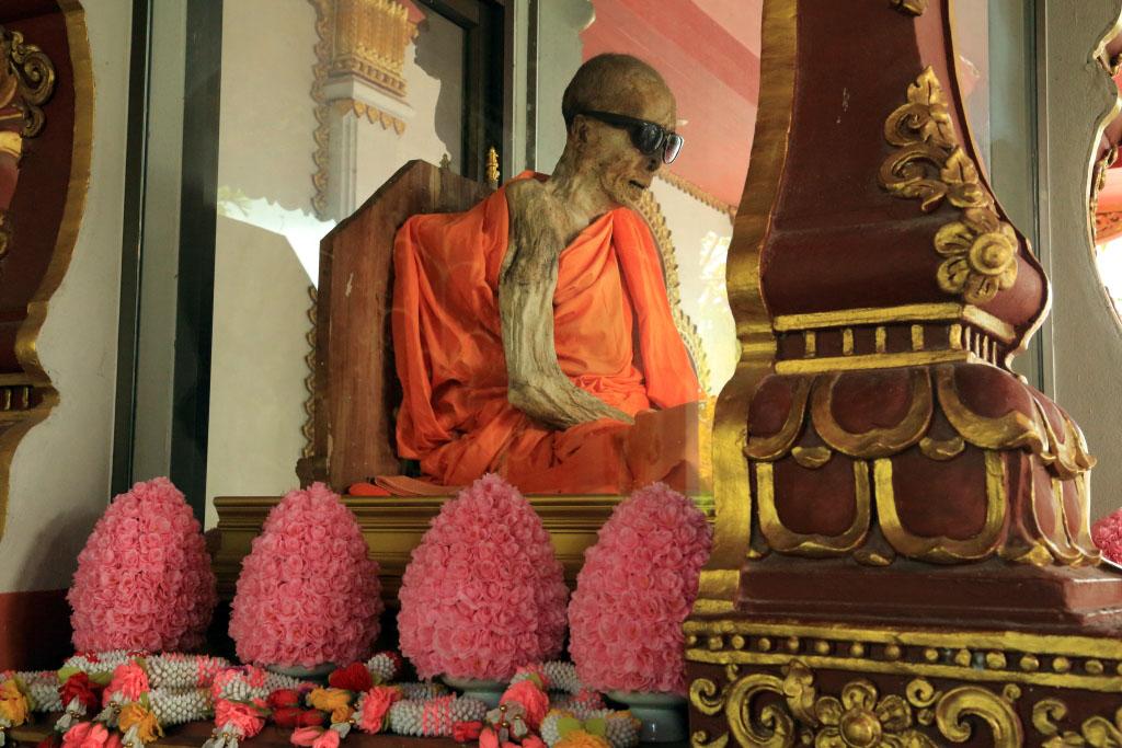 Mummified Monk in Koh Samui - All Luxury Apartments