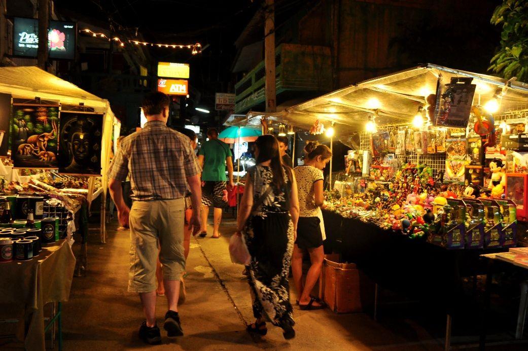 Night Market in Koh Samui - All Luxury Apartments