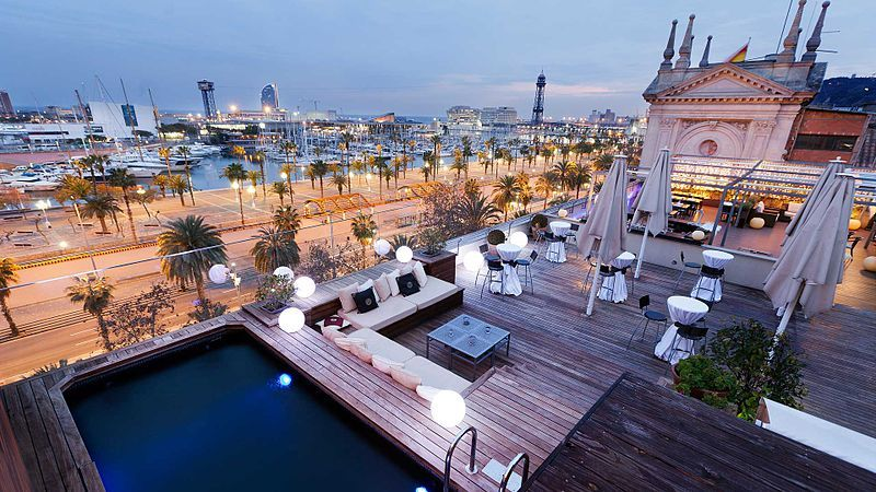 Rooftop bars in Barcelona - All Luxury Apartments