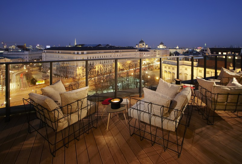 rooftop bar in Vienna - All Luxury Apartments