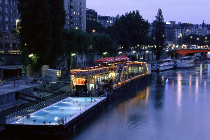 swimming in Vienna - All Luxury Apartments