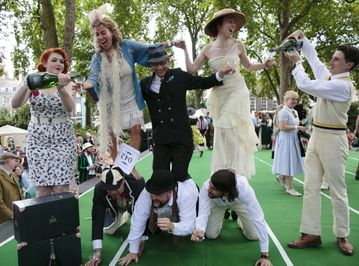 Chap Olympiad in London - All Luxury Apartments