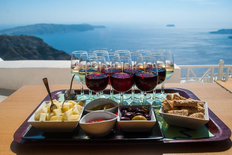 Santorini wines - All Luxury Apartments