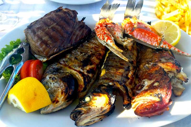 food in Santorini - All Luxury Apartments