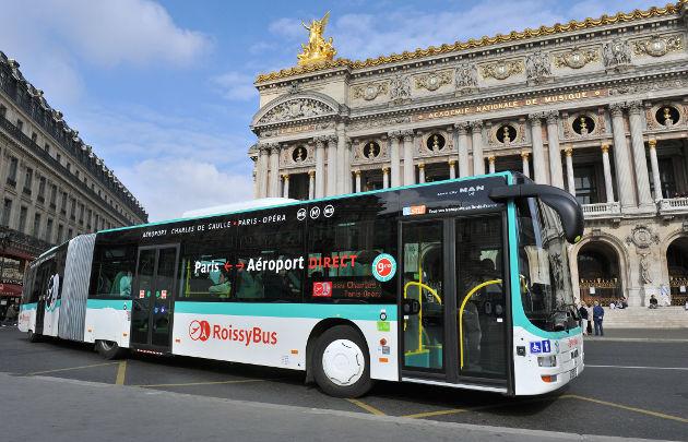 Paris bus - All Luxury Apartments