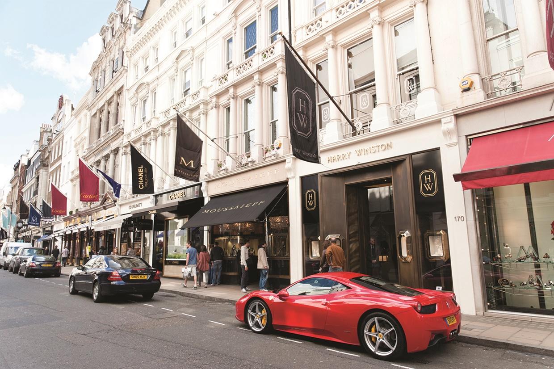 Bond street - london shopping