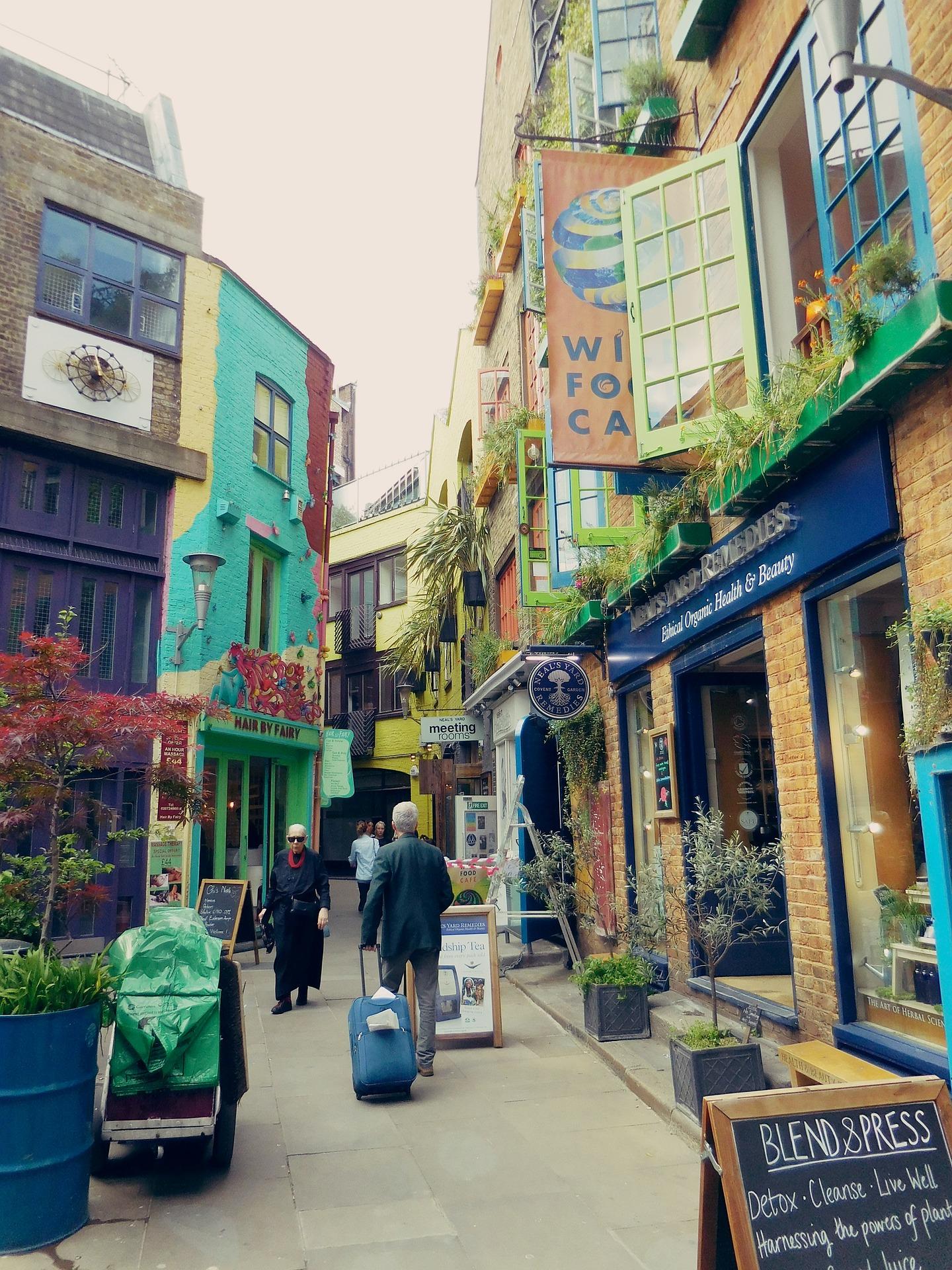 Covent garden - london shopping
