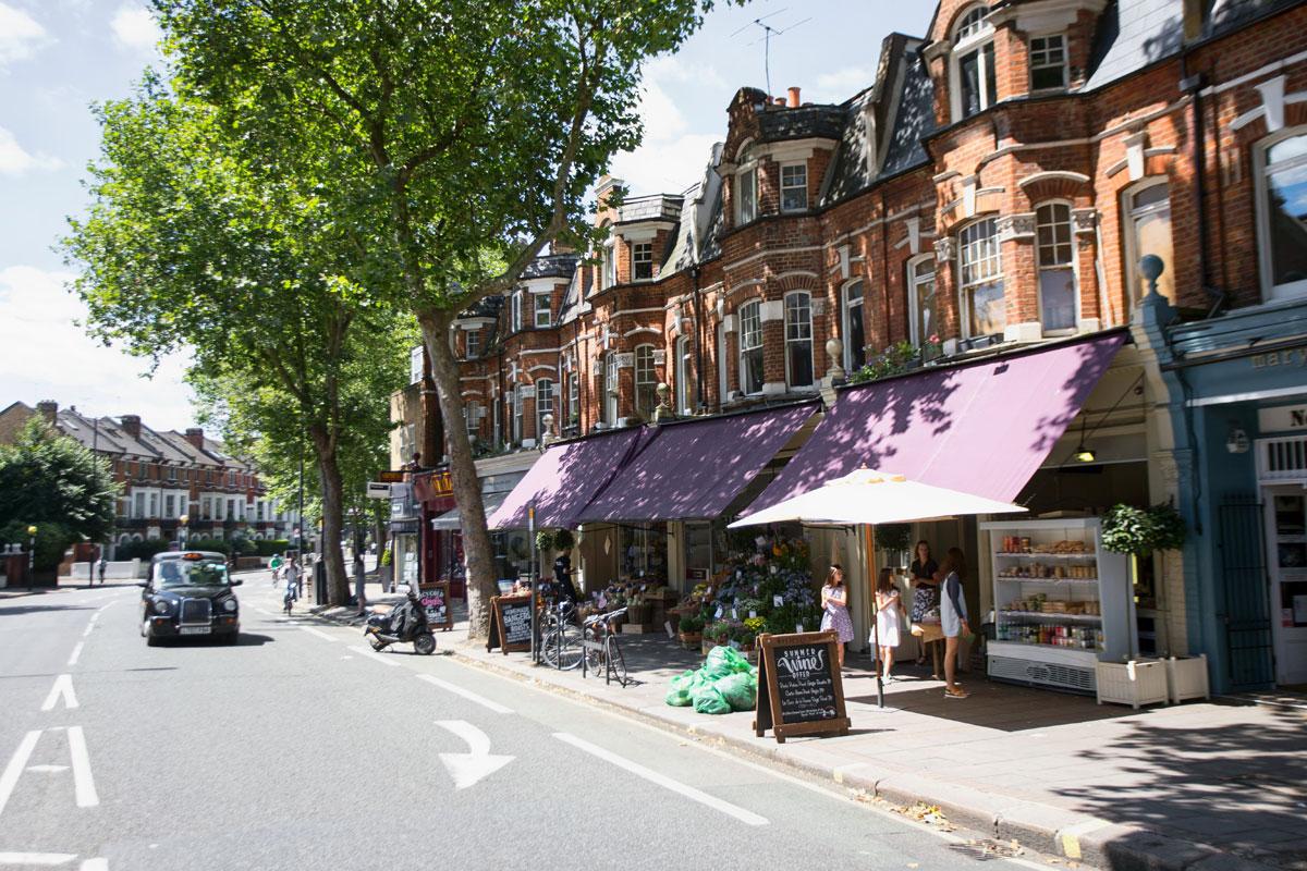 Kins road - london shopping