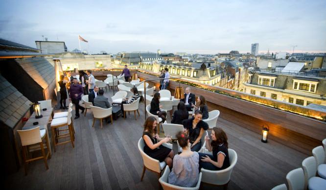 Aqua - london best roof bars