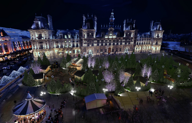 City hall - best paris christmas markets