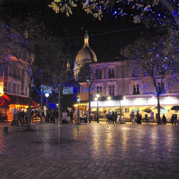 Montmatre - best paris christmas markets
