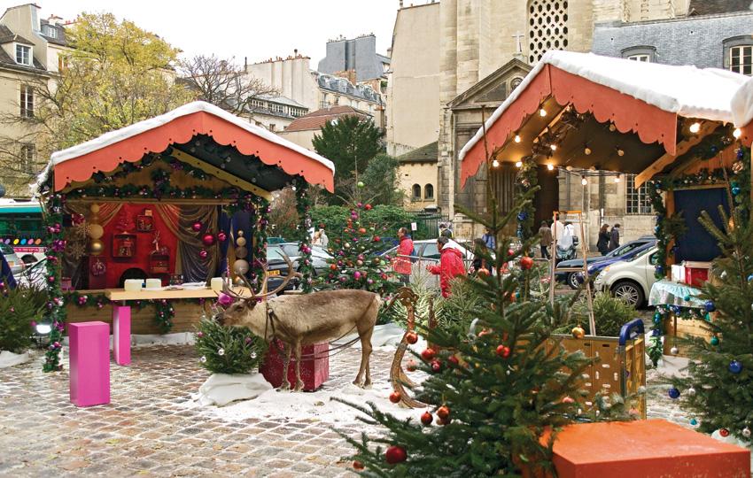St Germain - paris christmas markets