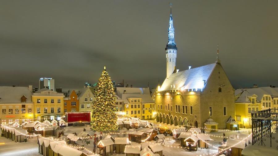 Tallinn - best christmas markets europe