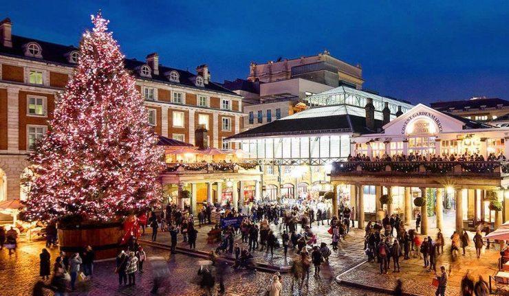 Covent garden - london christmas lights