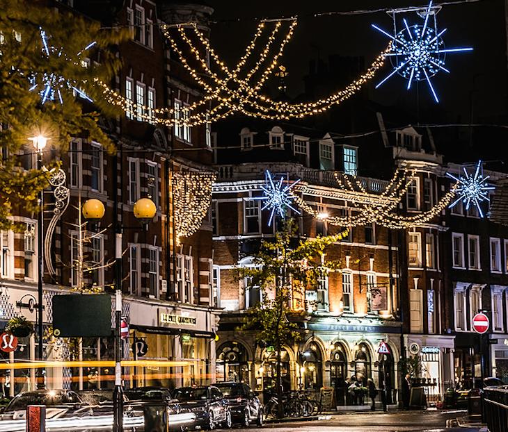 Marylebone - london christmas lights