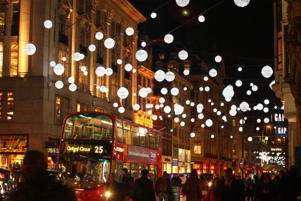 Oxford street - christmas lights london