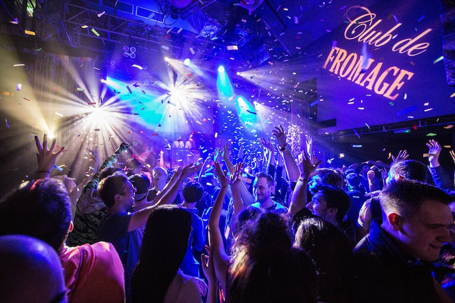 Club de fromage - new year london