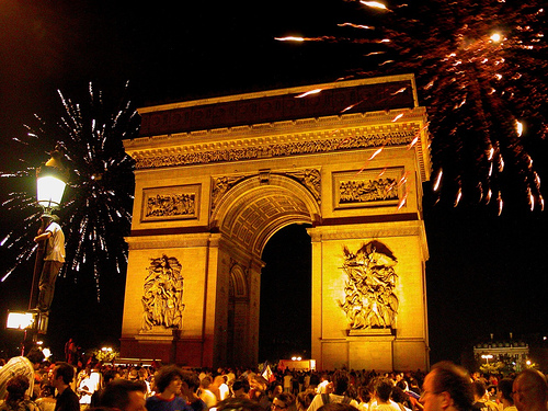 new year paris