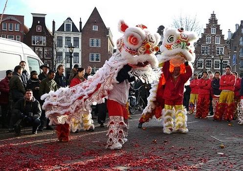 Amsterdam chinese new year