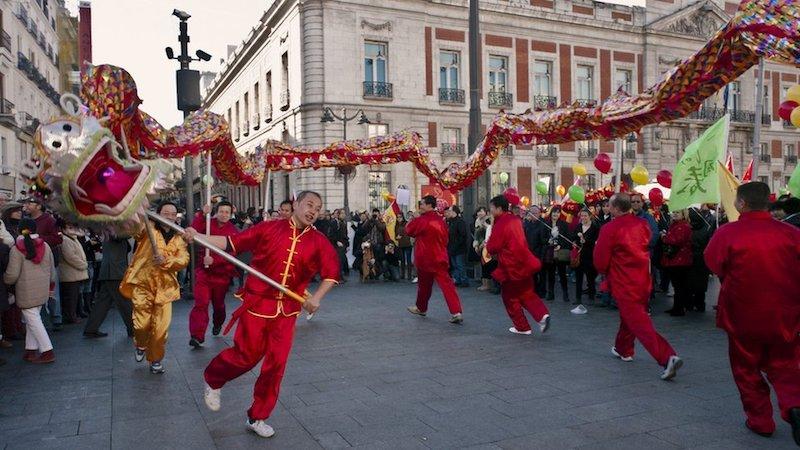 Madrid chinese new year