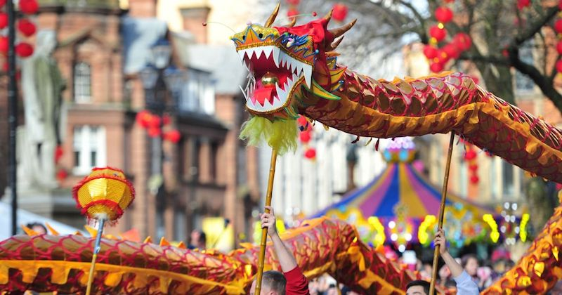 Manchester chinese new year