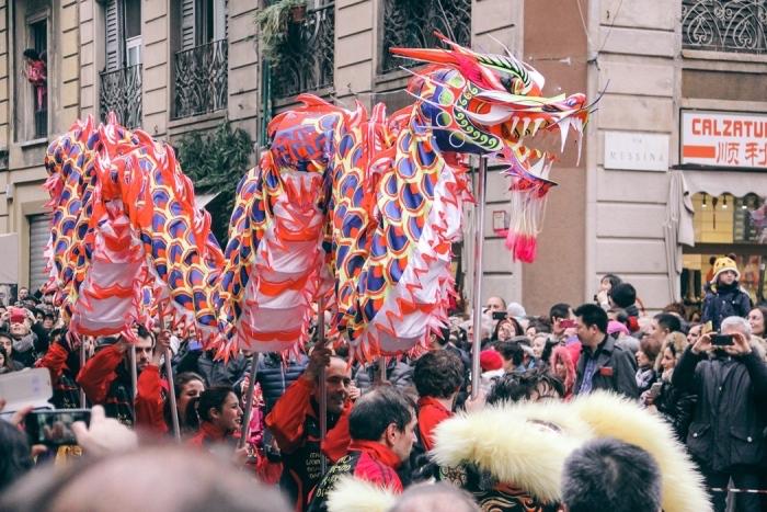milan chinese new year