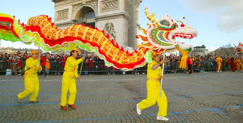 Paris chinese new year