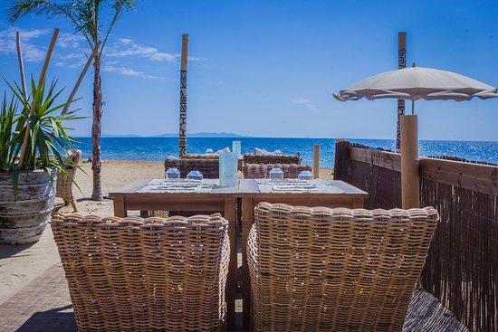 Beach restaurants french riviera