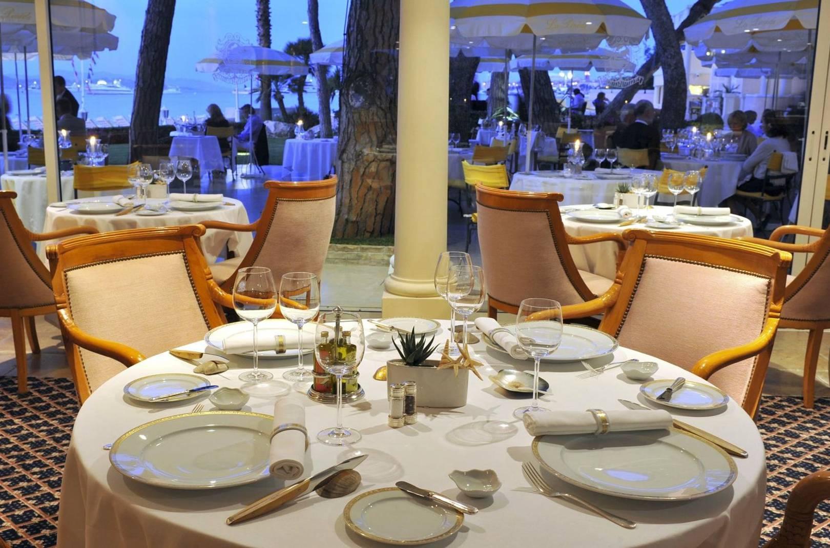 Best restaurants french riviera