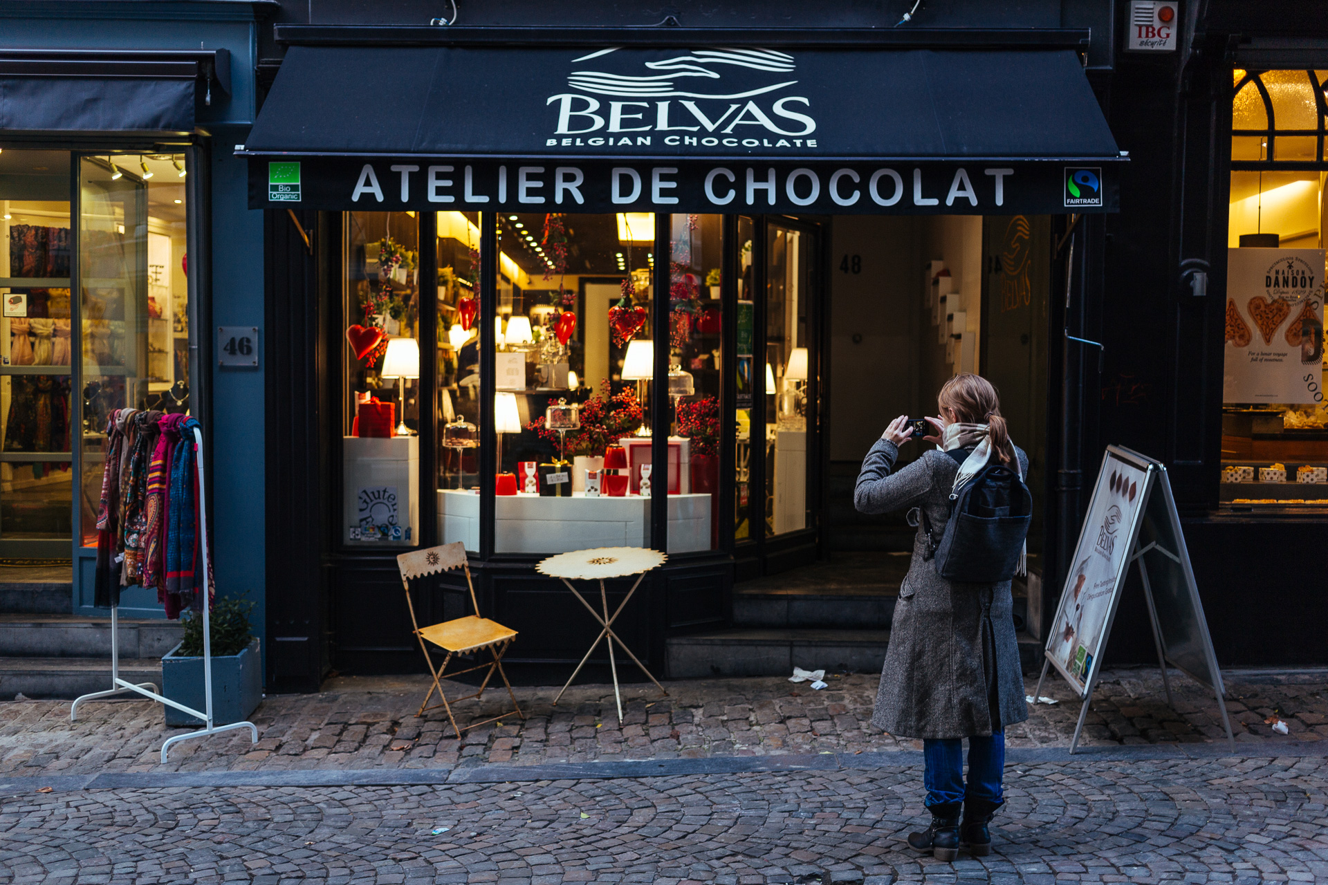 Best chocolate shops Brussels
