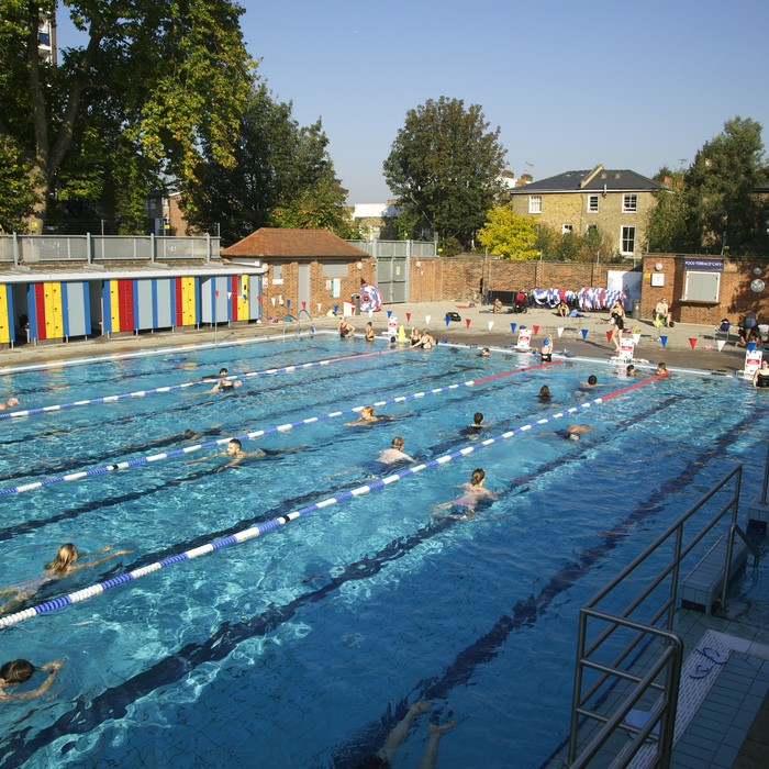 Best outdoor swimming pools London