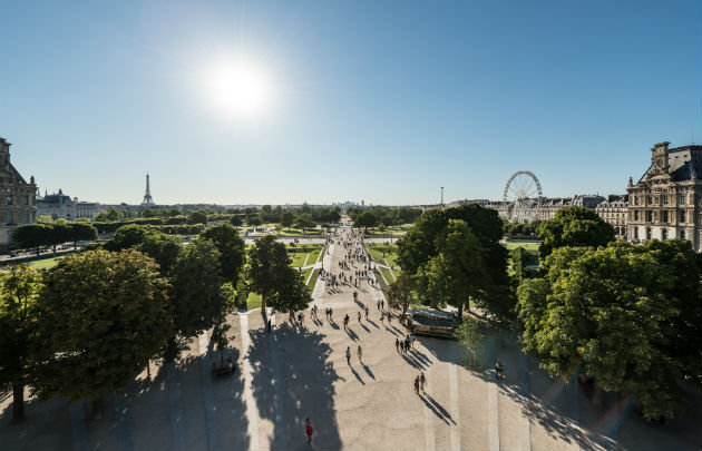 Best parks paris