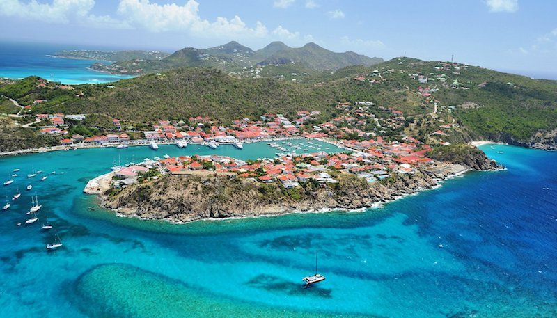How to get around st barts