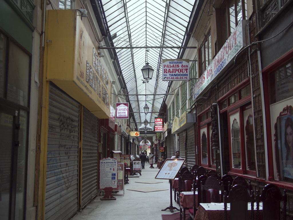 Covered passageways paris