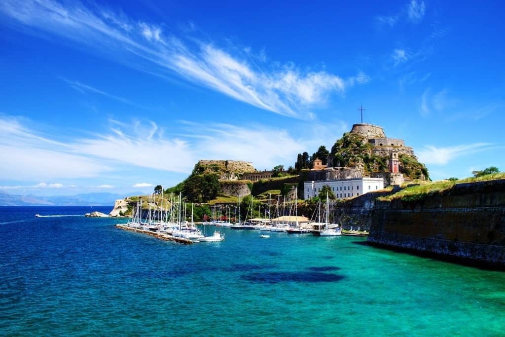 Stunning luxury villas in the Greek island of Corfu for families