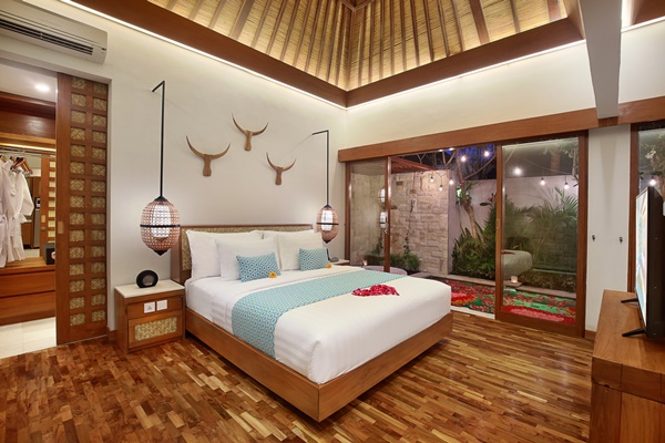 Luxury apartments in Bali for some well-deserved winter sun
