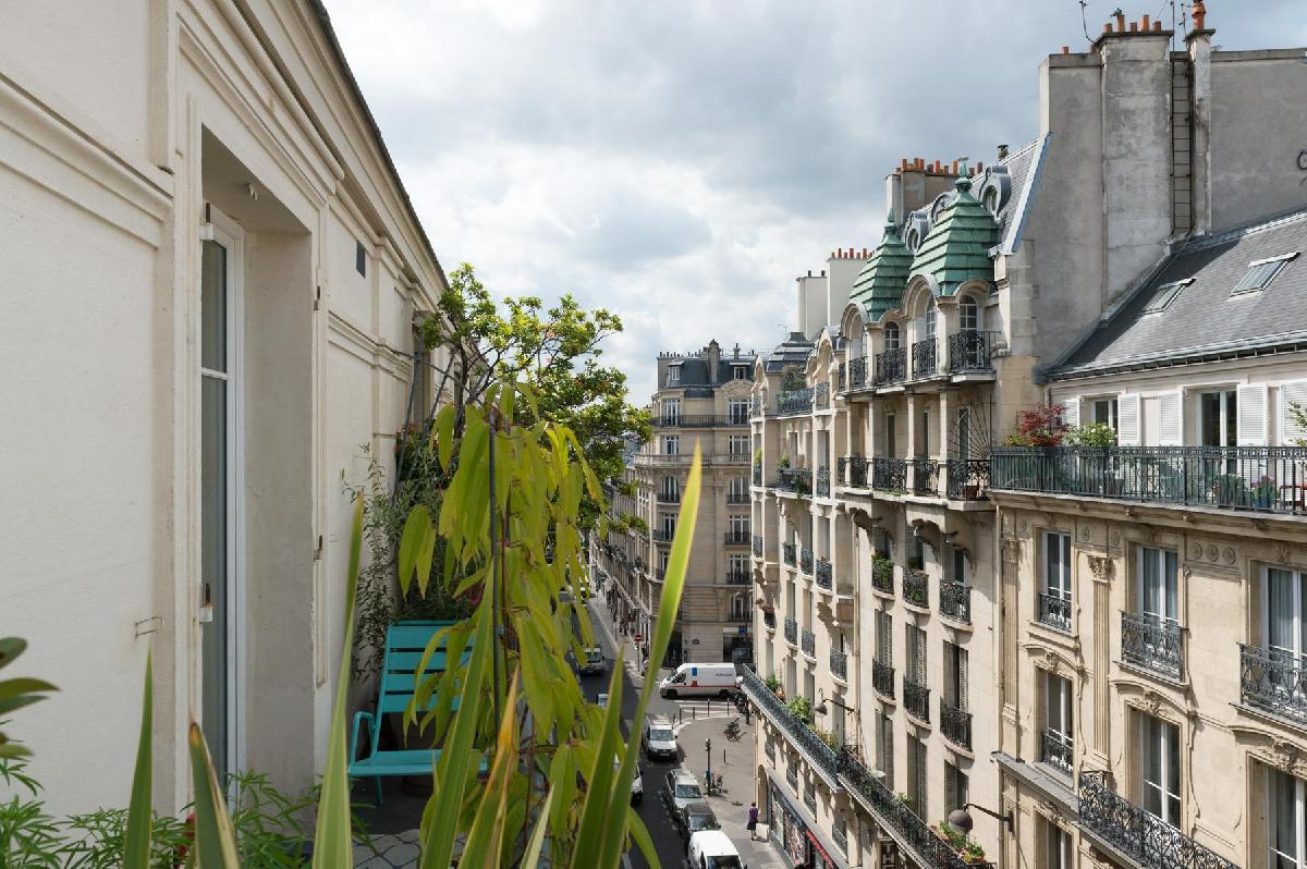11 Luxury Paris Apartment Rentals with Outdoor Spaces