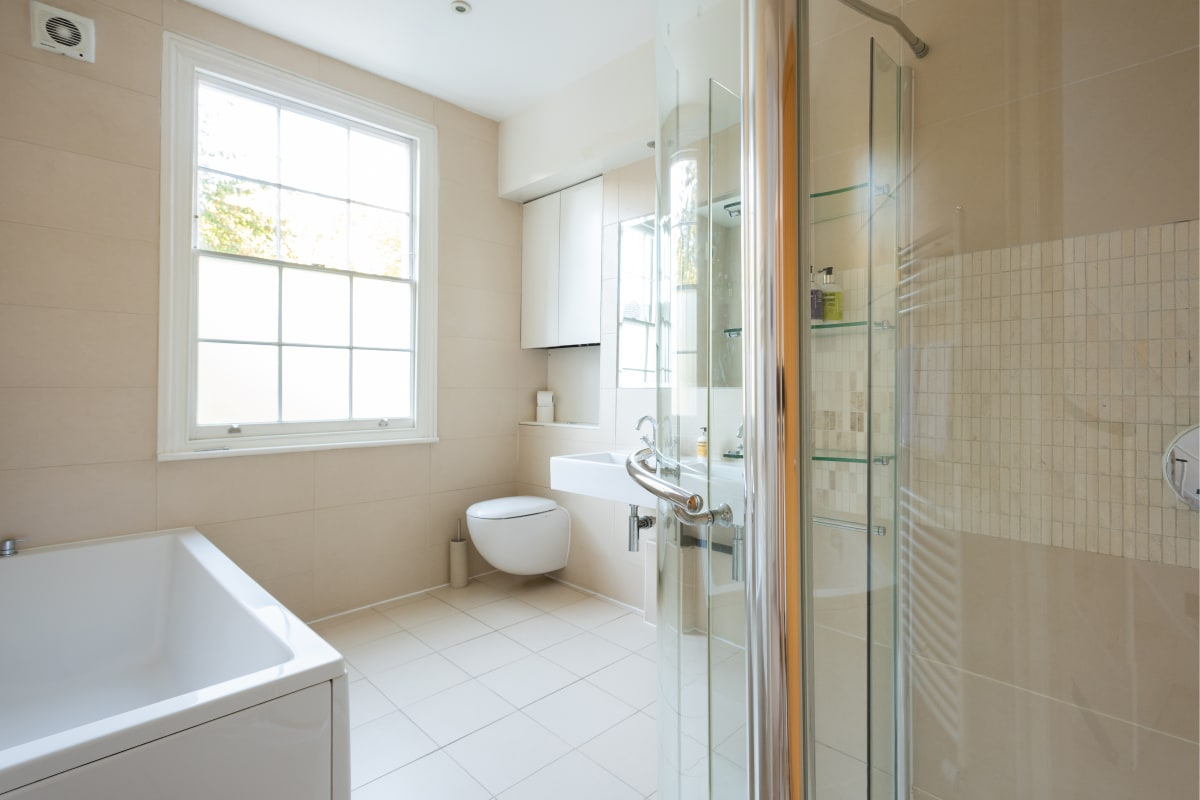 Apartments in London with the most luxurious bathrooms