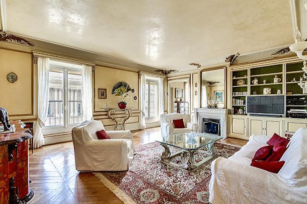 Paris Apartment Rentals with The Most Luxurious Living Rooms