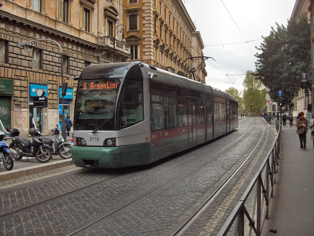 The Public Transport in Rome