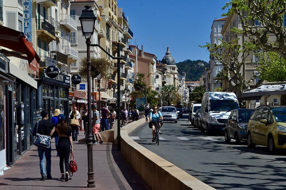 Enjoying a Day in Cannes
