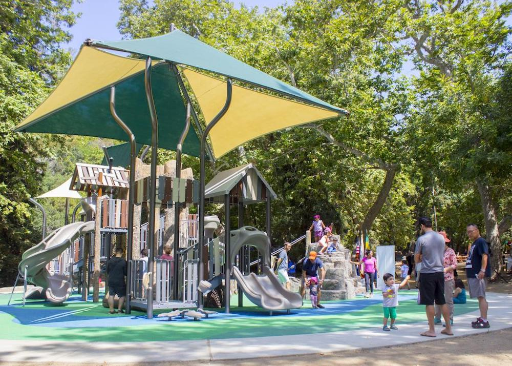 Where Kids Can Have Playground Fun in Los Angeles
