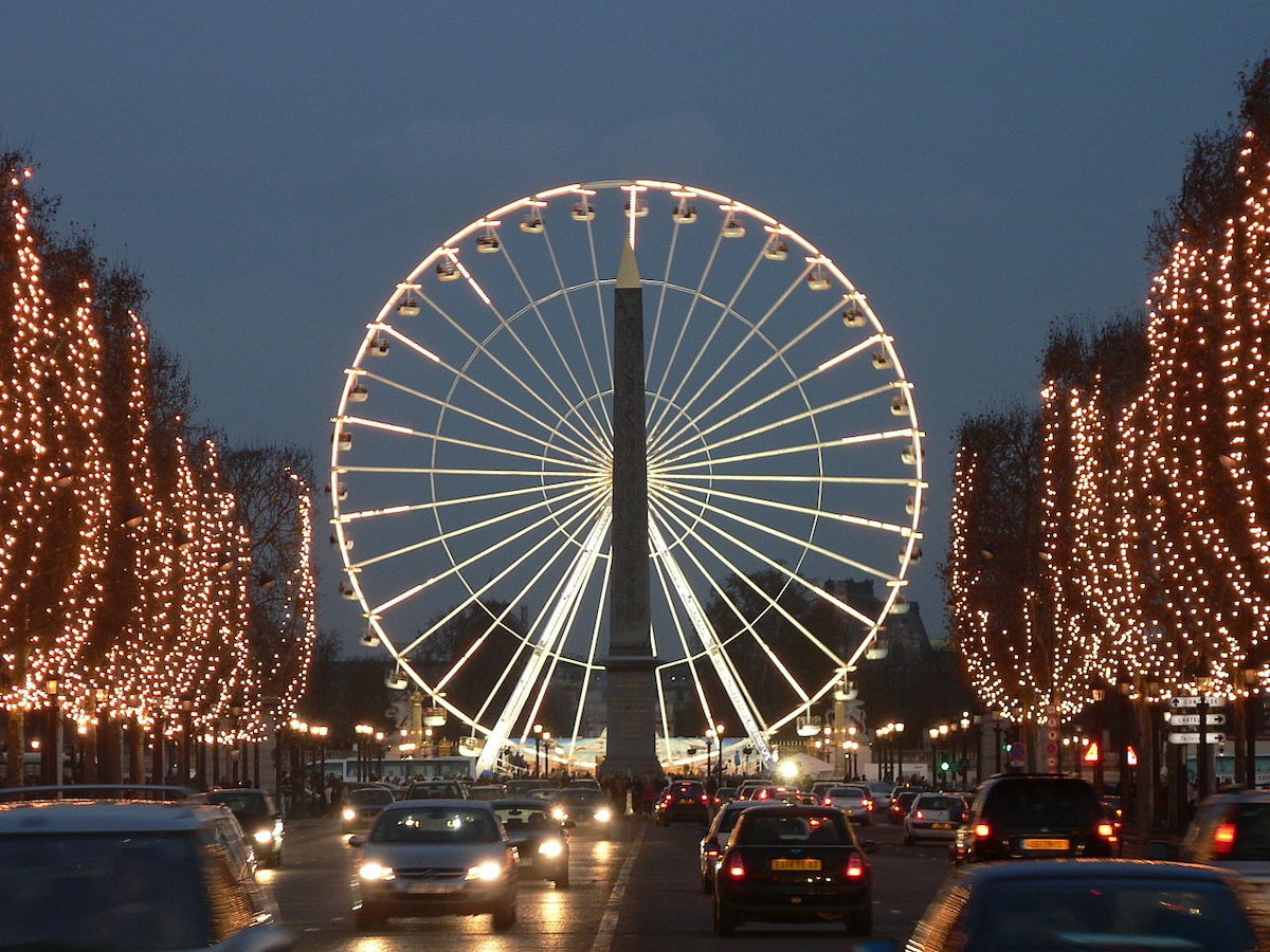 Welcoming The New Year in Paris