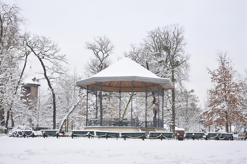 The Best Parks To Go To When It's Snowing in Paris