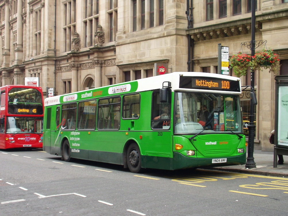 What To Know About Nottingham's Public Transport
