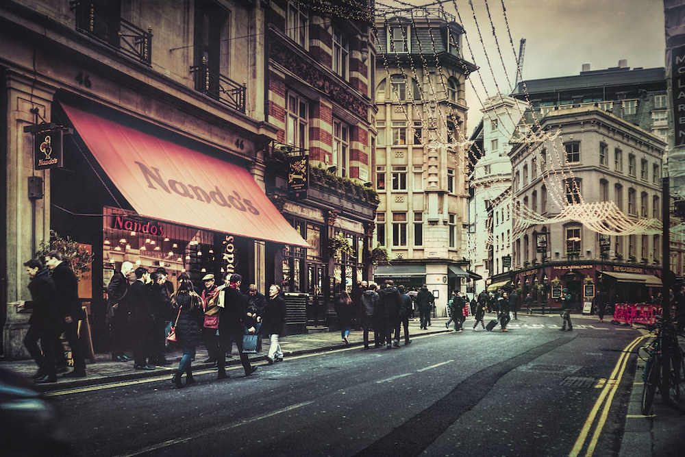The Five Most Fashionable Areas In London
